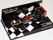1/43 Minichamps F1 Tyrrell 012 Ford 1984 S.Bellof monaco GP Wet Tyres