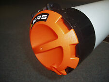 "Bazooka Conduit End Cap 150mm - ""Orange"" = Lockable"