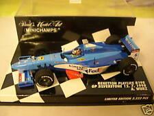 Minichamps: Benetton Playlife B198 British GP Silverstone 1998 A. Wurz