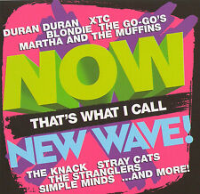 NOW That's What I Call NEW WAVE CD Blondie,Duran Duran,Simple Minds,Stray Cats,+