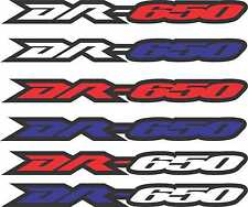 DR650 Dr 650 Swingarm Stickers Decals Graphics airbox tank dirtbike Supermoto