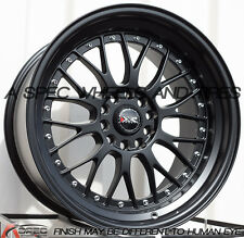 18X10 XXR 521 5x114.3/120 +25 Flat Black Wheel (1)