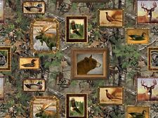 Realtree Wildlife Animals Camouflage & Frames Print Concepts #4735 By the Yard