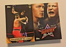 2019 Topps WWE SummerSlam 25 Base Card Lot Tribute and Inserts