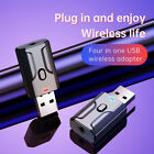 USB Bluetooth 5.0 Transmitter Adapter Receiver Two in One For Headphone Speaker、
