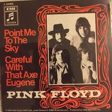 """Pink Floyd Point Me to the Sky Careful with that Axe Eugene Sticker 4""""x4"""""""