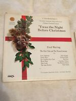 The Longines Symphonette Fred Waring Twas the Night Before Christmas 4 LP Set