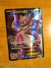 PL FULL ART Pokemon MEWTWO EX Card NEXT DESTINIES Set 98/99 Black and White TCG