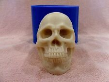 """Skull"" silicone mold for soap and candles making mould molds halloween"