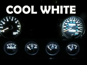 Gauge Cluster LED Dashboard Bulb Cool White For Jeep 92 95 Wrangler YJ