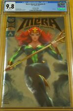 Mera Queen Of Atlantis #1 Cgc 9.8 Nm/M Foil Convention Edition Aquaman Dc Comics