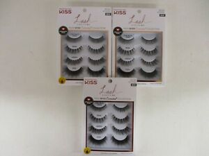 12 PAIRS KISS LASH COUTURE FAUX MINK CURATED COLLECTION #82754 KCUR02 - HN 2803