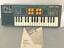 Casio SK-5 Sampling Keyboard  with Box -- No Power Adapter --  Tested