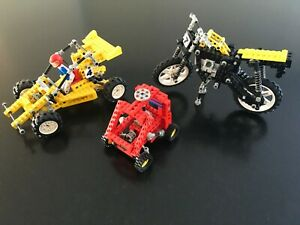 Lego Technic 8024 - 8838 - 8840 Auto - moto