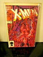 The Uncanny X-Men #205 (Marvel Comics)~BAGGED BOARDED~