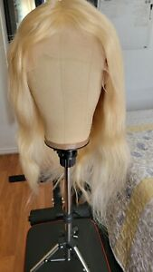 Human Hair Blonde T Part Lace Frontal Wig 130% Density