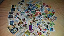 !!! Lot 2 de 200 timbres Grand format tous différents / oblitérés - France !!!
