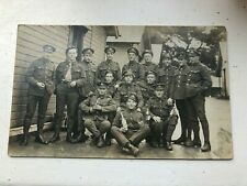 More details for ww1 photo postcard . soldiers in guernsey enjoying themselves ! w.j. coombs