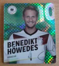 REWE Glitzer WM 2014 Sammelkarte/Glitzerkarte Nr. 10 Benedikt Höwedes -