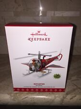 BATMAN BATCOPTER HALLMARK KEEPSAKE CHRISTMAS TREE ORNAMENT