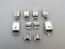 INTERRUTTORE cromo COPERCHI Bottoni Custom switch buttons CAPS II Harley Davidson