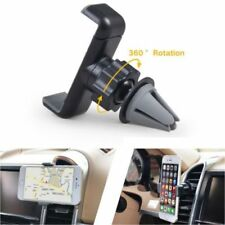 Car Air Vent Mount Cradle Holder for Mobile Phone GPS Universal 360° Rotating PP