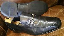 salvatore Ferragamo men black leather formal shoe size 13 ee