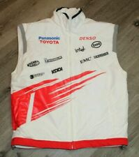 Men's Panasonic Toyota Racing Formula 1 F1 Vest Size Large Pre Owned