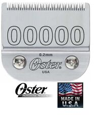 OSTER #00000 DETACHABLE CLIPPER BLADE*Fit 76,Titan,10,Octane,Turbo 111,Model One