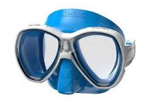 Seac Ischia Kinder Schnorchelmaske Taucherbrille Tauchermaske Schwimmbrille blau