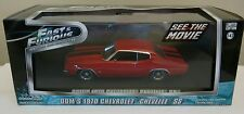 Fast & Furious Dom's 1970 Chevrolet Chevelle SS 1:43 Greenlight Diecast Model