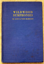 1932 ALICE LEVERN BEARDSLEY Wildwood Symphonies SIGNED Poetry POEMS Boston MASS