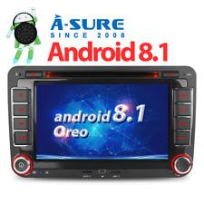 Android 8.0/8.1 Autoradio GPS DVD NAVI für VW TOURAN GOLF PASSAT POLO TIGUAN T5