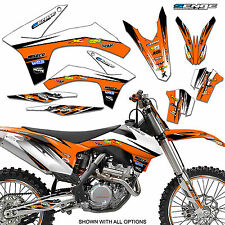 1998 1999 2000 KTM SX 125 250 380 400 520 GRAPHICS KIT DECO DECALS STICKERS MOTO