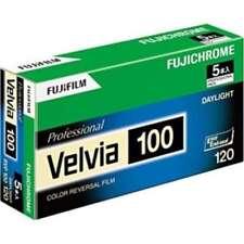 5 Rolls FUJIFILM Fuji VELVIA 100 120 Color Reversal Film 6x9 6x8 6x7 6x6 6x4.5