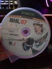 NHL 07 (disc only) - MICROSOFT XBOX - FREE POST