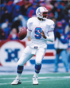 STEVE McNAIR 8X10 PHOTO HOUSTON OILERS TENNESSEE FOOTBALL PICTURE NFL