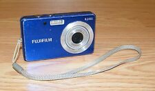 Genuine FujiFilm FinePix J12 Blue 8.2 Mega Pixels Digital Camera Only **READ**