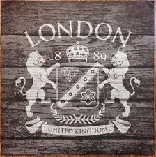 2 single paper napkins decoupage scrapbooking or collection London Simbol Lions