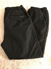 Columbia Snow Ski Snow Board Performance Pants waterproof Black X-large XL Lined