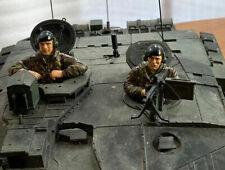 Heng Long Taigen Tank Parts British Crew Figures with Beret 1/16 accessory 2 Pcs