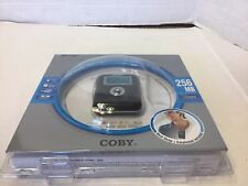 Coby MP-C741 256MB MP3 Player Voice Recorder FM Radio New Sealed