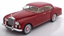 MCG 1965 Rolls Royce Silver Cloud 3 Flying Spur RHD Mulliner Dark Red 1:18*Nice!