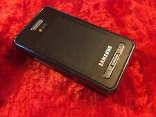 Samsung SGH D980 - Black (Unlocked) Cellular Phone
