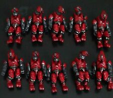 lot 10 Halo Mega Bloks Covenant red Combat Elite Command figure only figure #SD8
