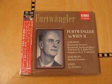 Furtwangler in Wien II Schubert/Schumann/Liszt - Japan Super Audio CD