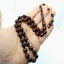 Stylish Brown Prayer Beads Akrilik Tesbih Muslim Rosary Islam Tasbih Tasbeeh 996