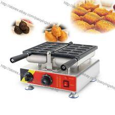 Commercial Nonstick Electric 10pcs Mini Small Taiyaki Maker Machine Baker Iron