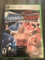 WWE SmackDown vs. Raw 2007 (Microsoft Xbox 360, 2006)