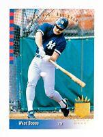 Wade Boggs #2 (1993 Upper Deck SP) All-Star Baseball Card, New York Yankees, HOF